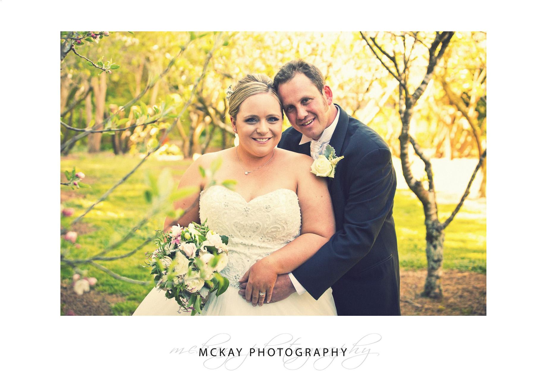 Rebecca & Steve - wedding photo at Red Cow Farm