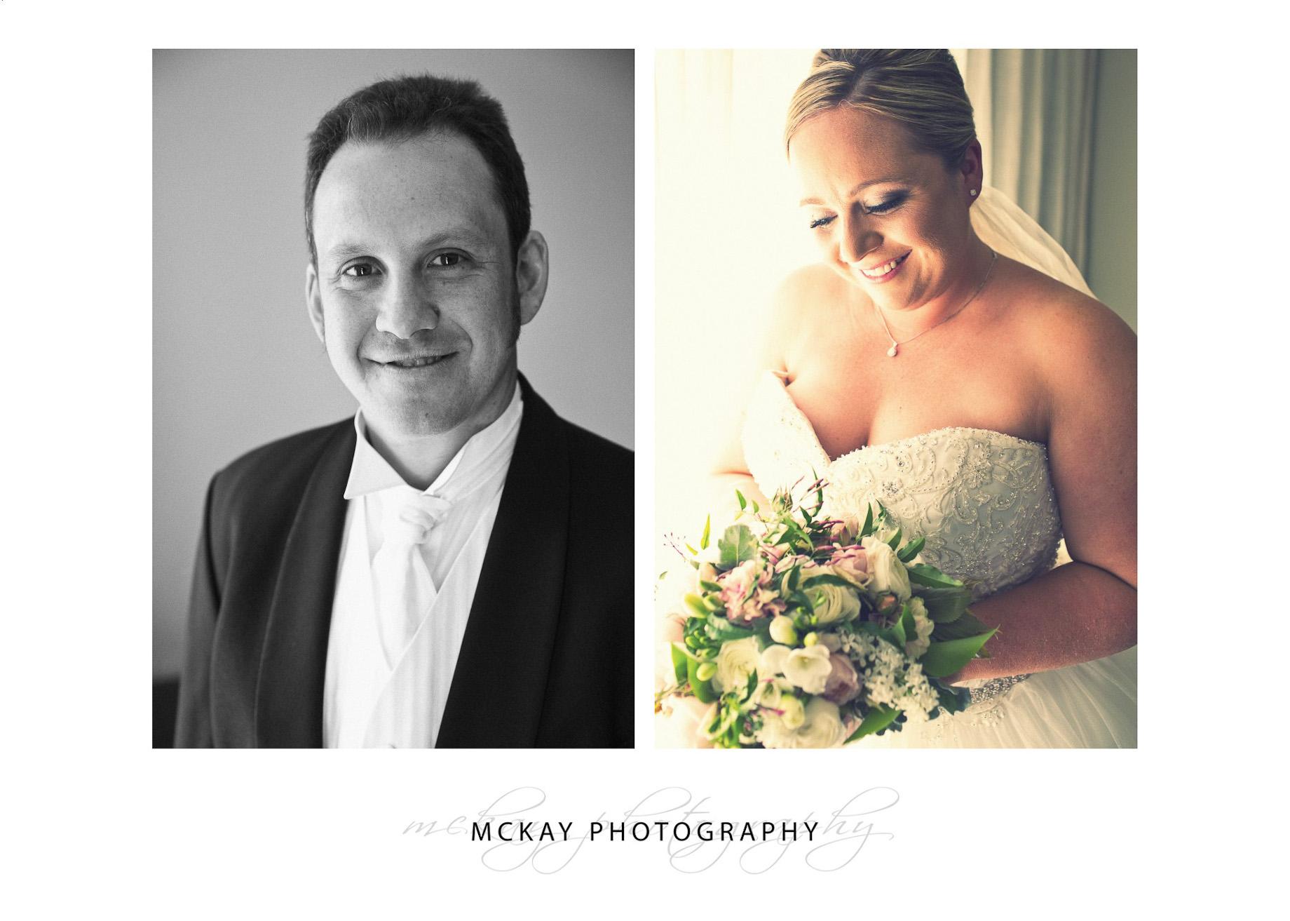Bride and groom portrait photos