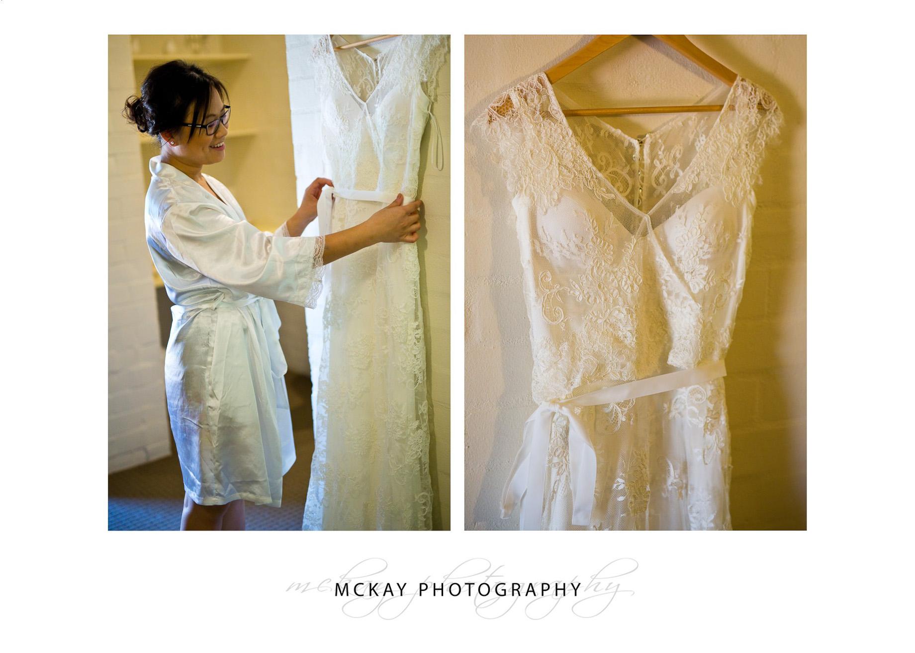 Louisa dress detail Karen Willis