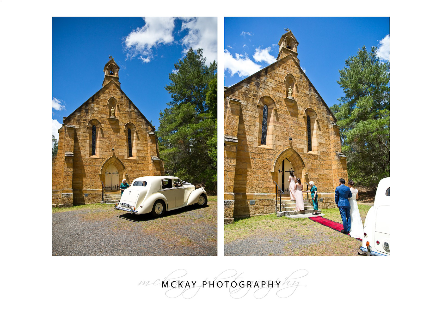 Wedding at St Francis Xavier Church Berrima