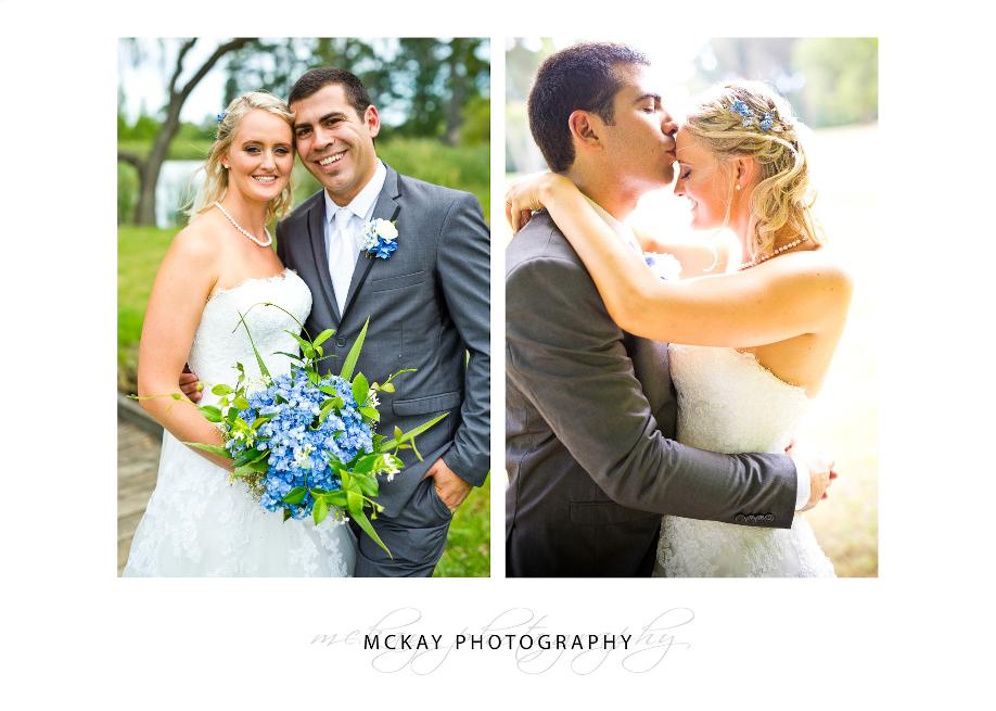 Liz & Mat wedding photography in Bowral