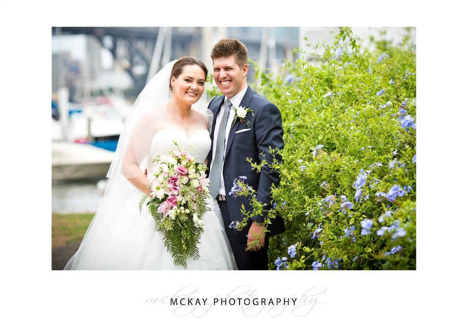 Liz & Mick wedding photos Lavender Bay Sydney