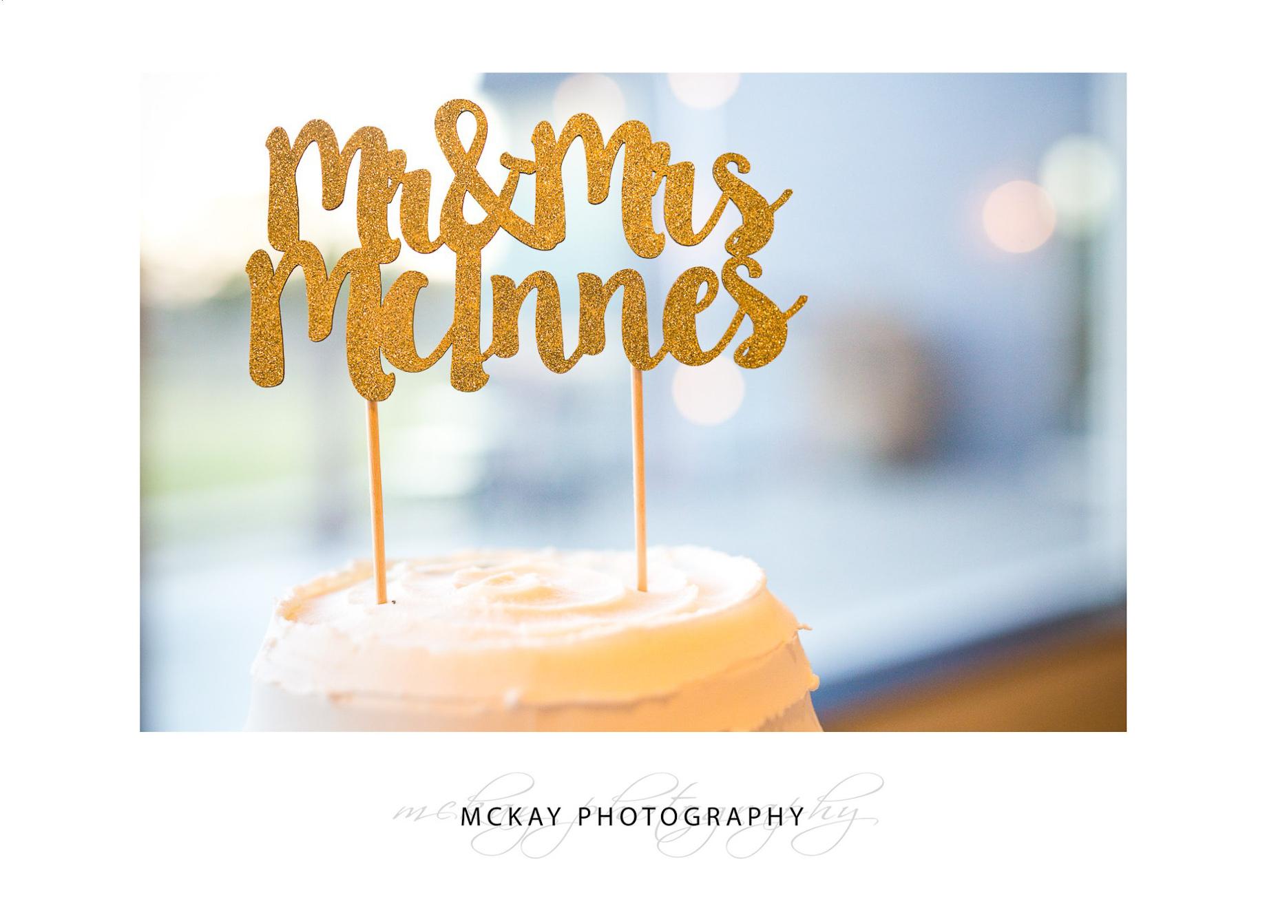 Wedding cake topping names