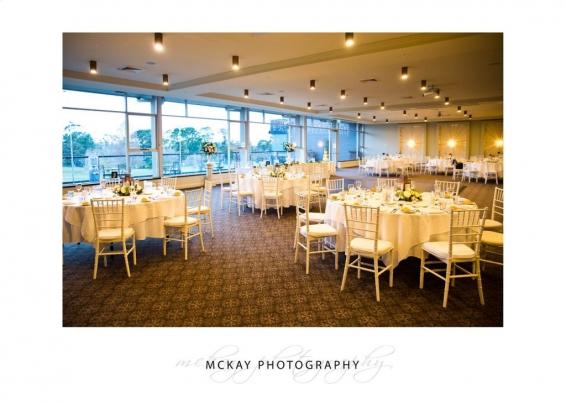 Wedding room tables at Gibraltar Hotel Bowral