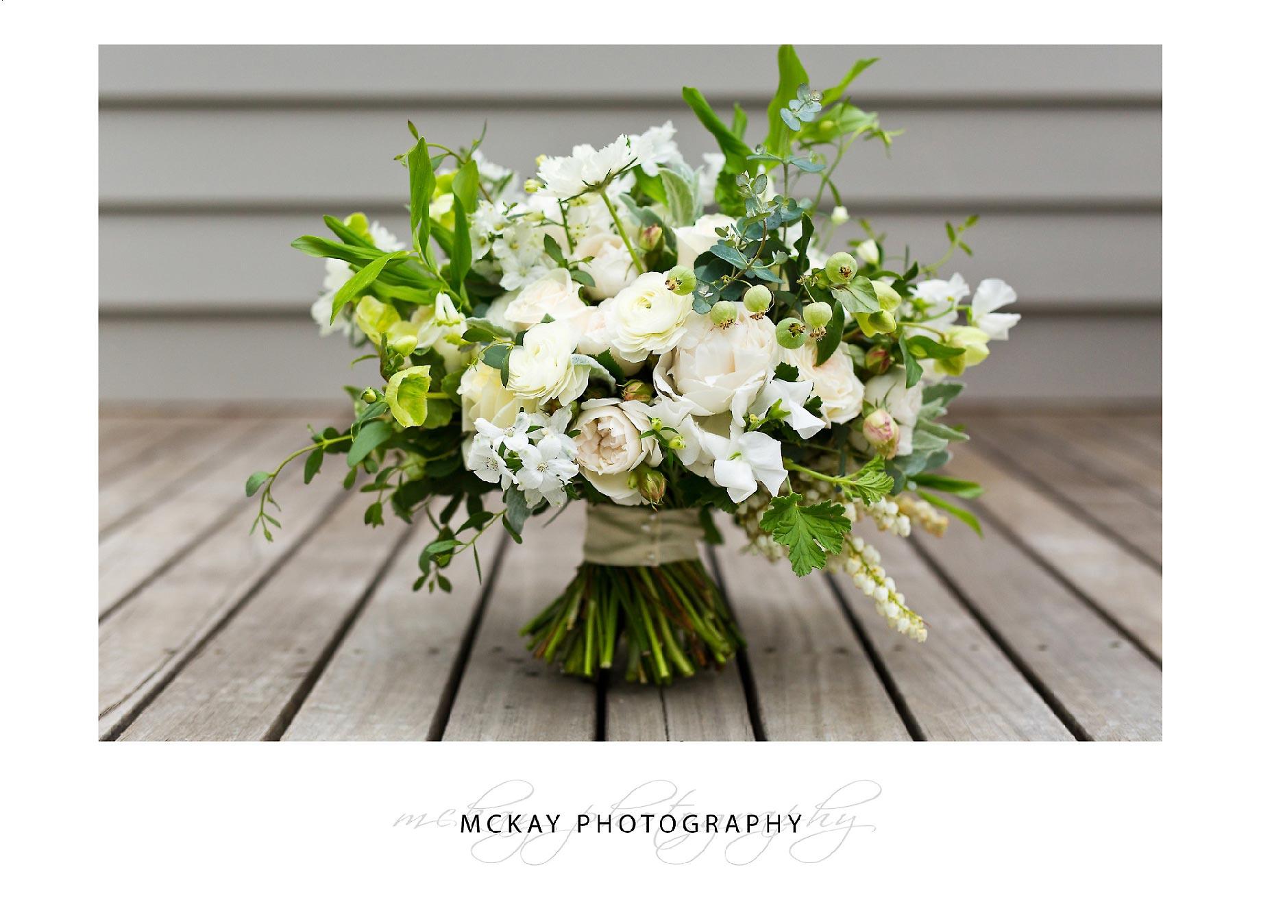 Affair with George wedding bouquet