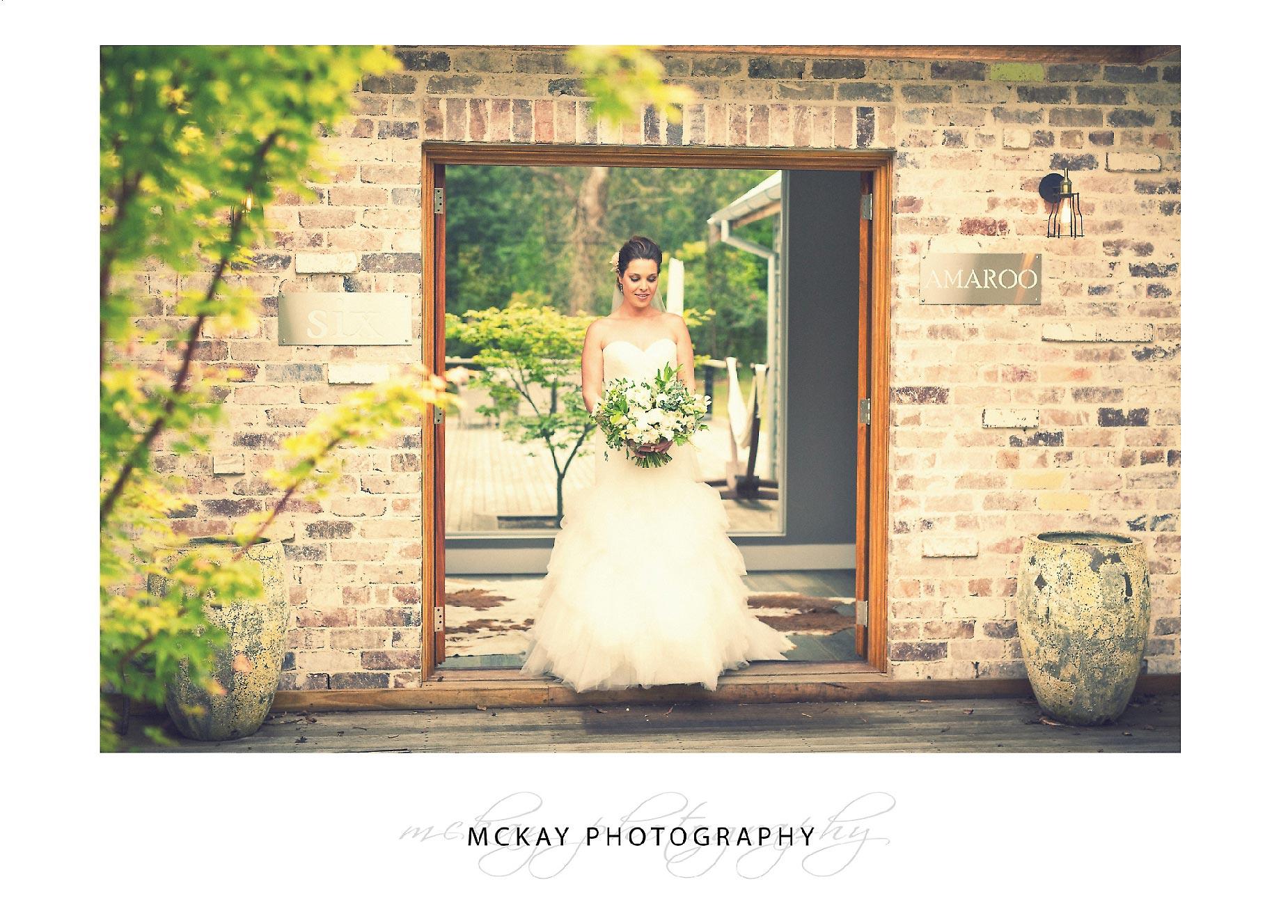 Bride portrait photo Bowral