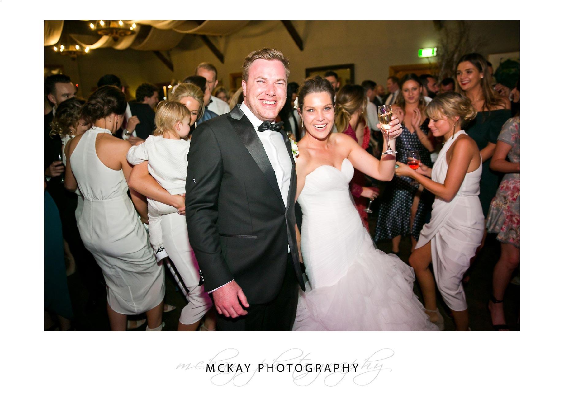 Jessie & Adam dance floor wedding photo