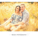 Long grass golden photos engagement photography session