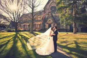 Vicki & Justin's wedding at St Thomas North Sydney