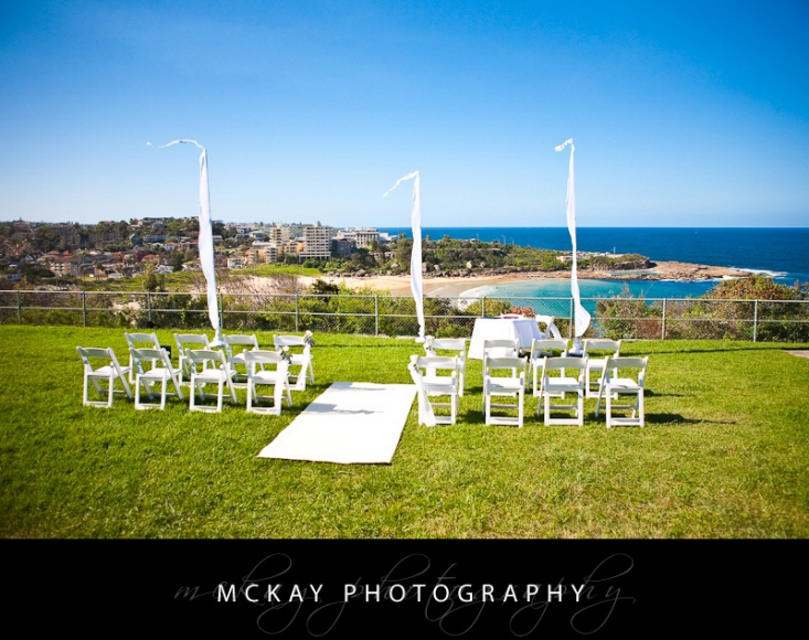 Freshwater View Reserve wedding