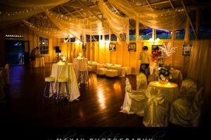 Athol Hall wedding interior