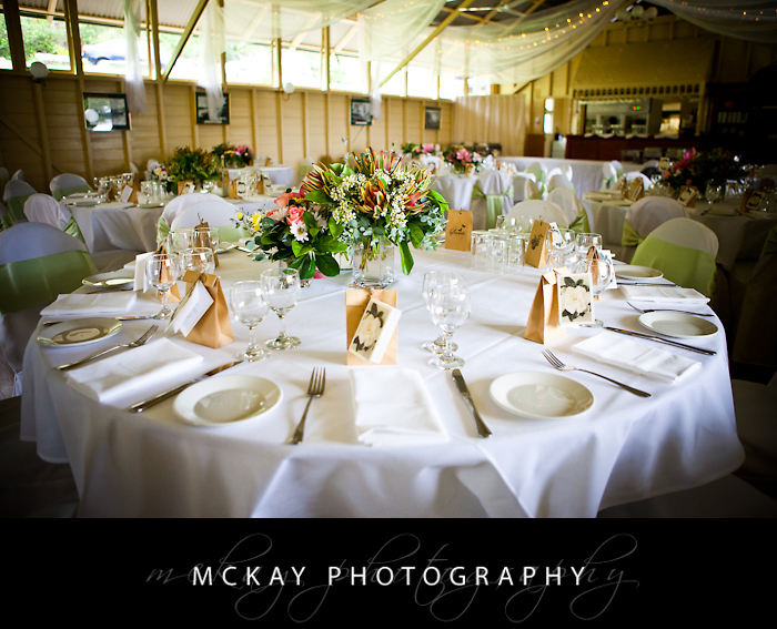 Athol Hall wedding interior photo