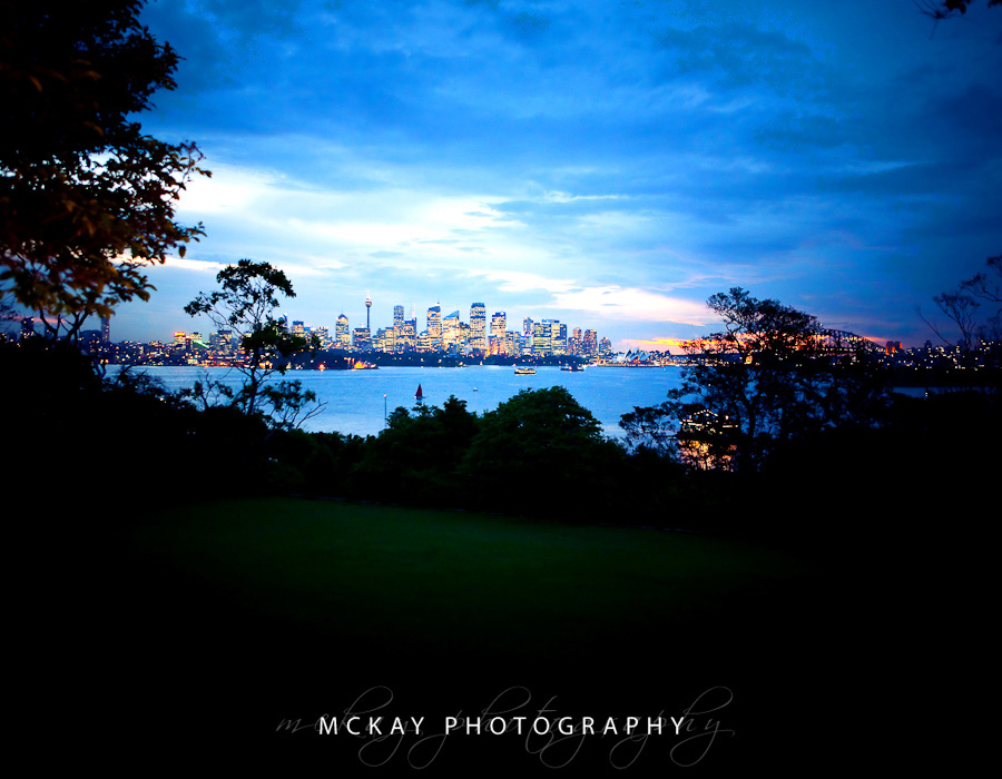 Sydney Skyline from Athol Hall
