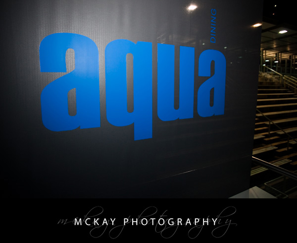 Aqua Dining wedding Sydney