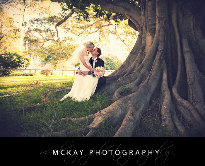 Botanic Gardens Wedding Sydney