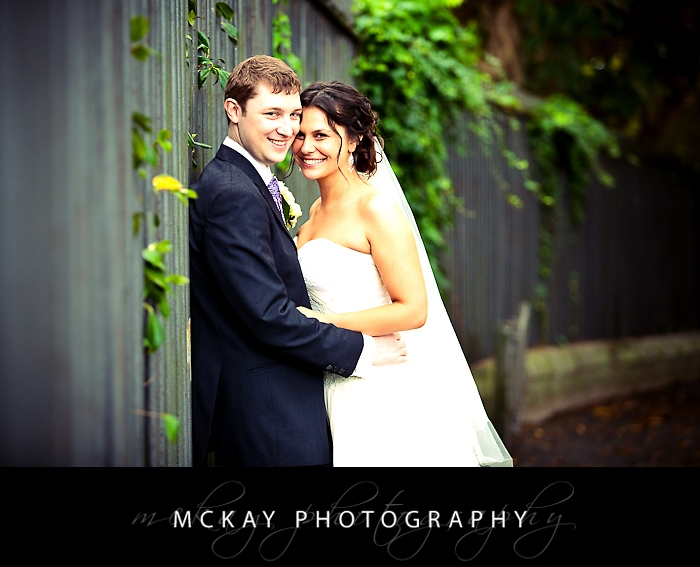 Wedding photo Botanic Gardens
