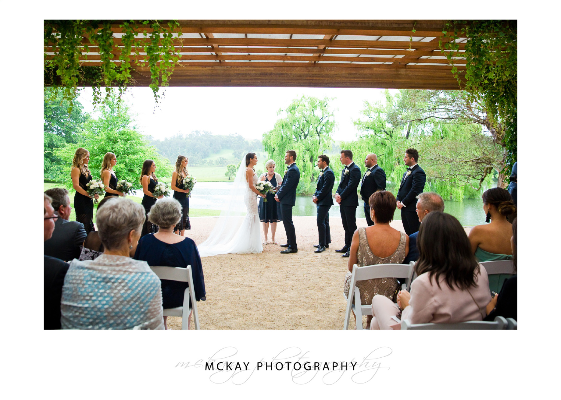 The Pavillion at Bendooley Estate - a great wet weather ceremony option