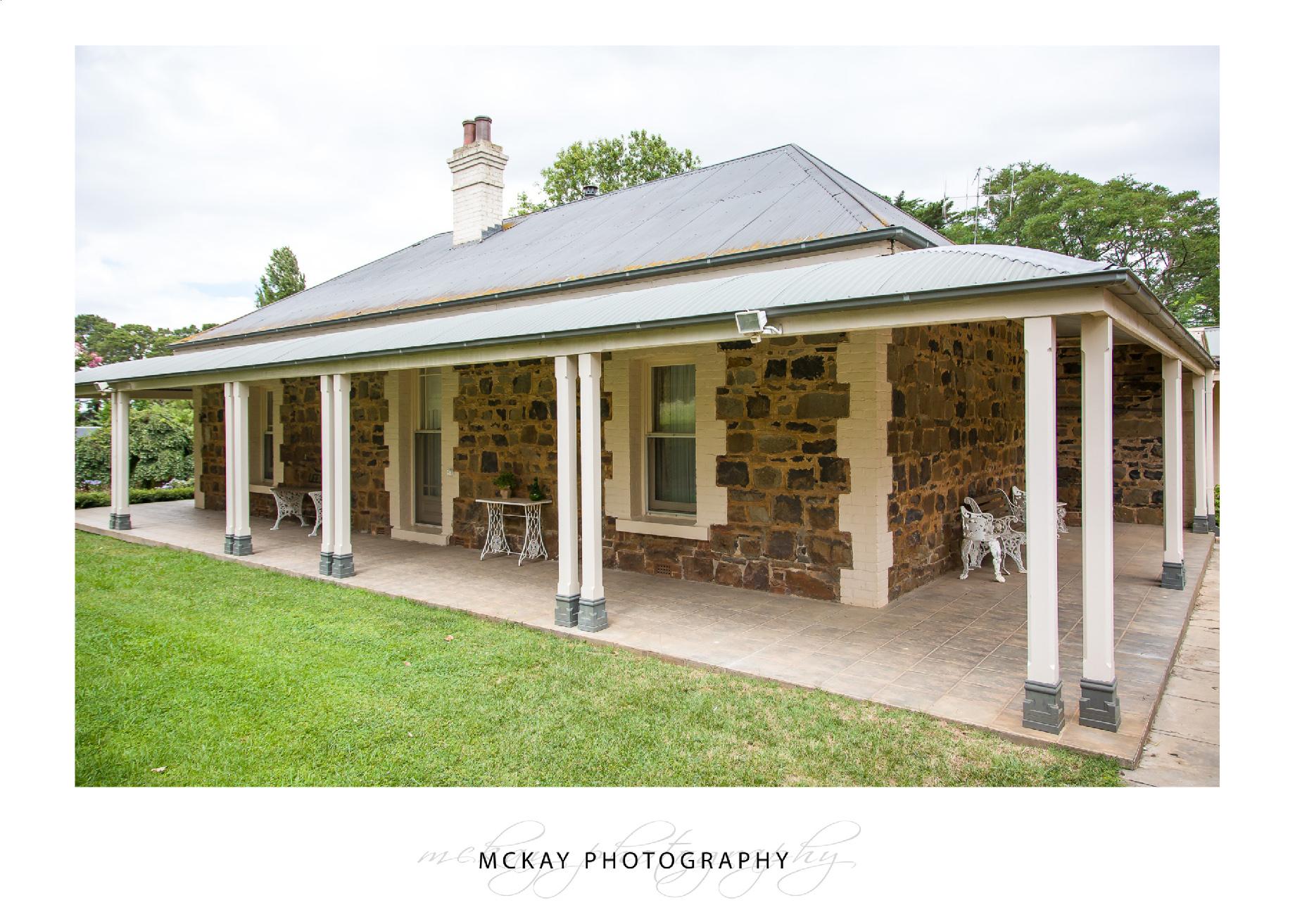 Old farm homestead at Leeston