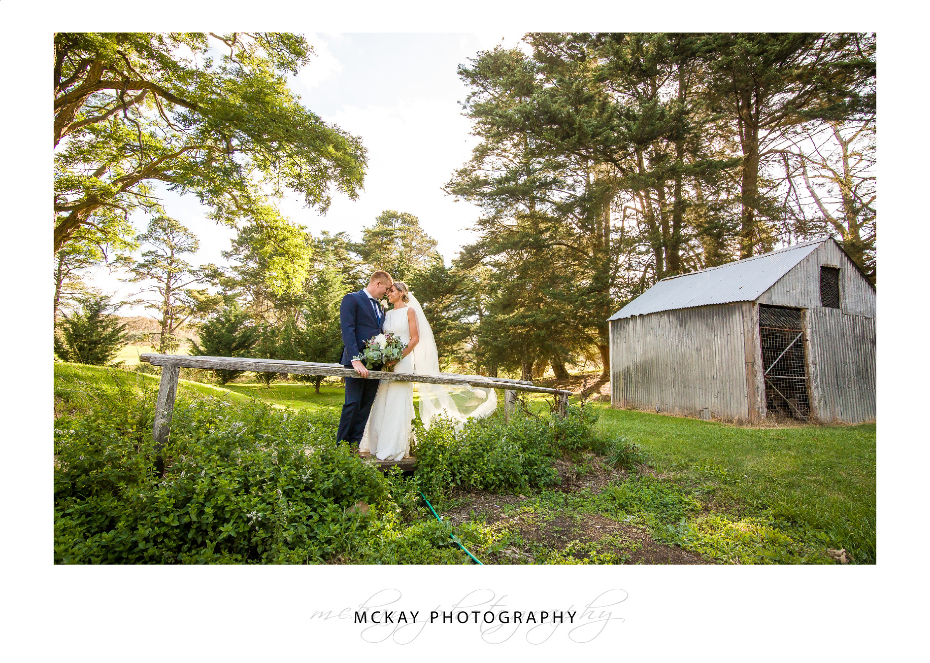 Country wedding Crookwell