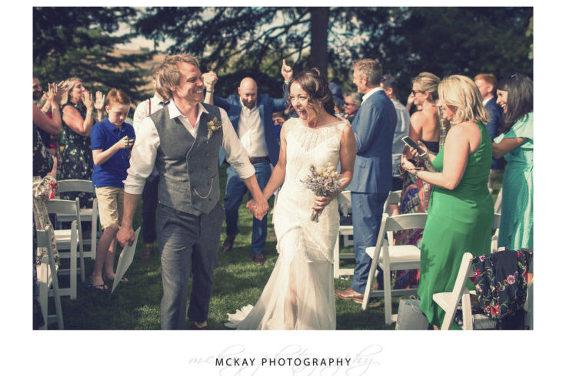 Bec Jon wedding Bendooley Estate
