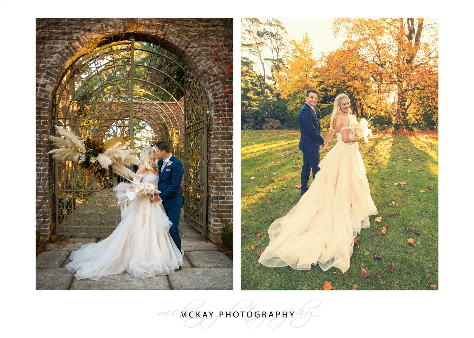 Coach House Milton Park wedding Bowral gates