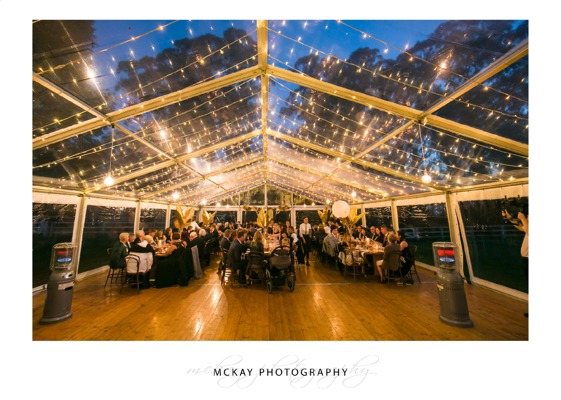 Marquee wedding Bowral