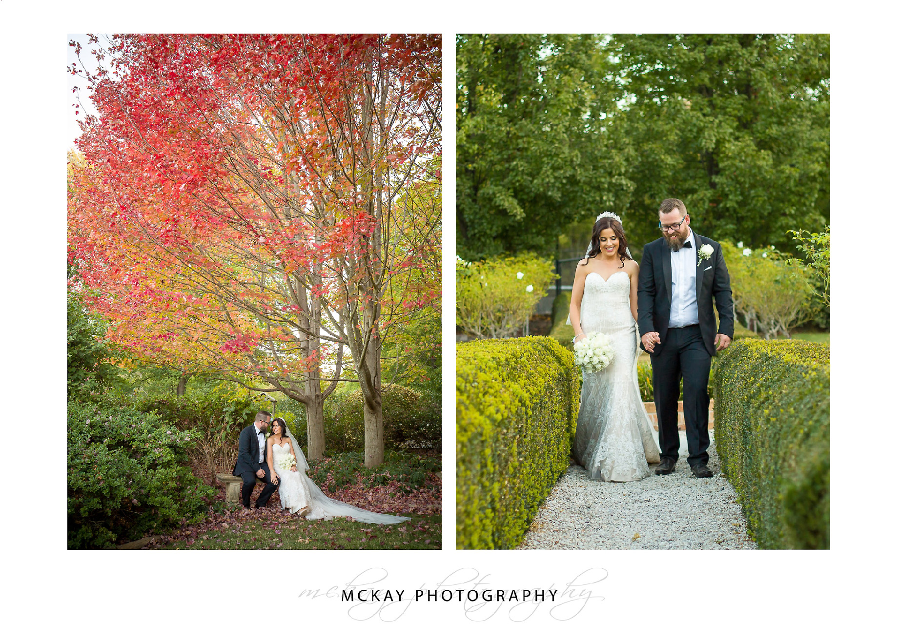 Autumn wedding Bowral Southern Highlands
