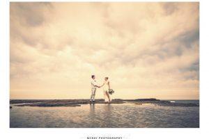 Wollongong wedding beach