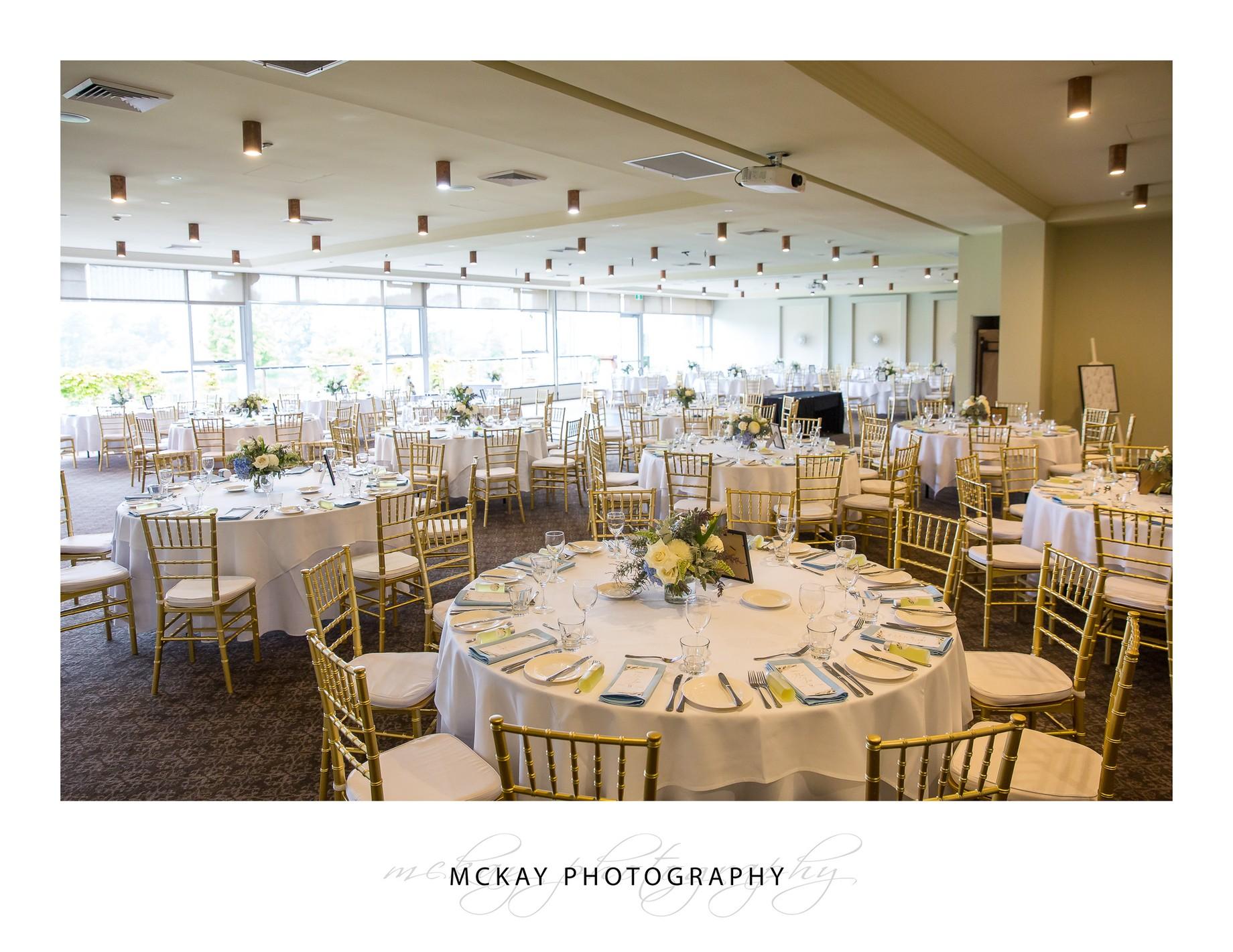 Gibraltar Hotel wedding reception